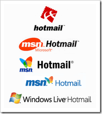 HotmailLogoEvolution